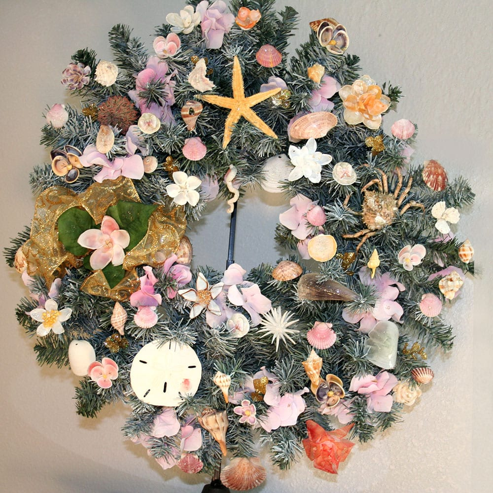 Flower Shell Wreath