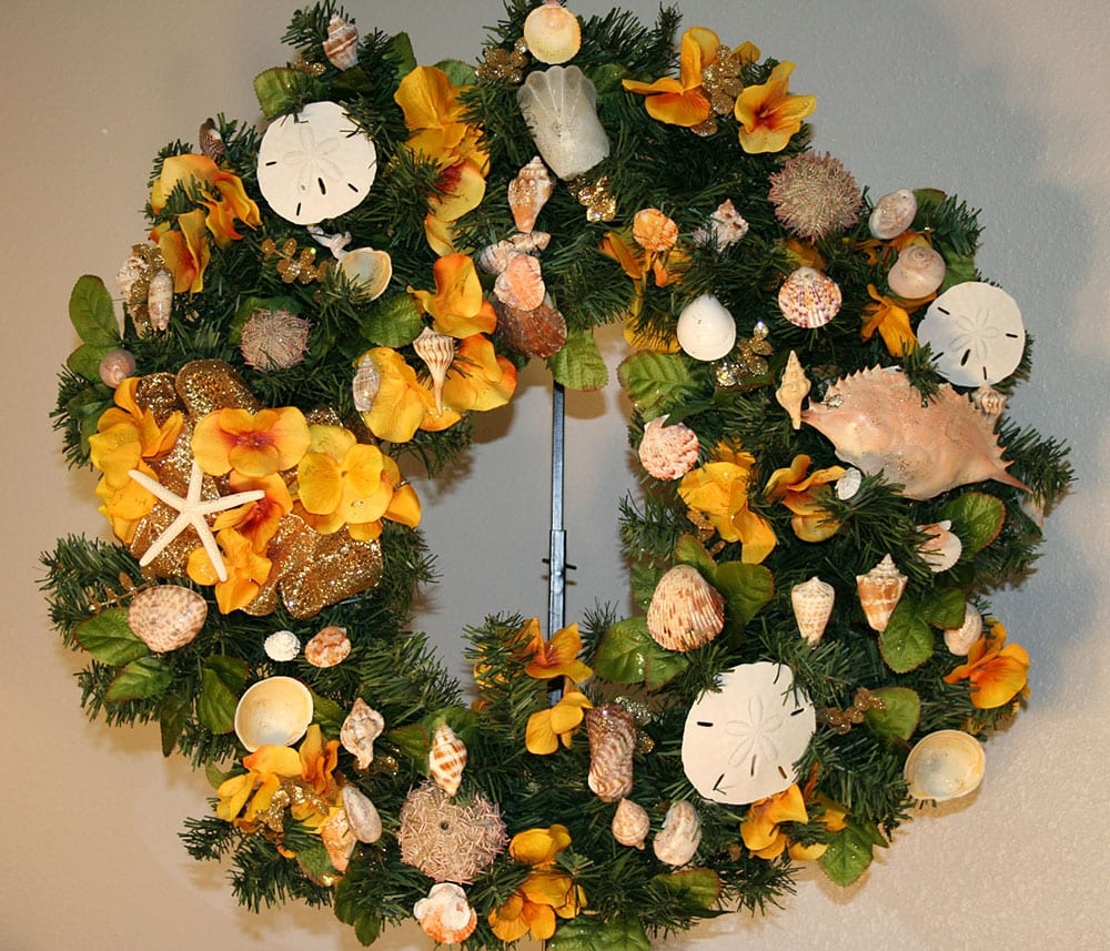 Yellow Colors Wreath